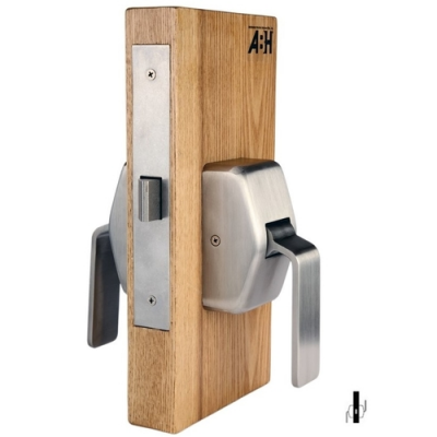ABH 6610 Passage Mortise Hospital Push/Pull Latch