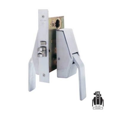 Schlage HL6-9486 Mortise Faculty/Hotel/Restroom Hospital Push/Pull Latch, with Legacy Indicator