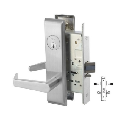 Yale 8817-2FL Apartment, Exit or Public Toilet Mortise Lever Lock