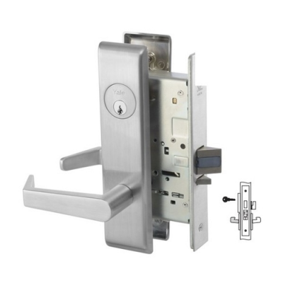 Yale 8820FL Hotel Guest Lock Mortise Lever Lock