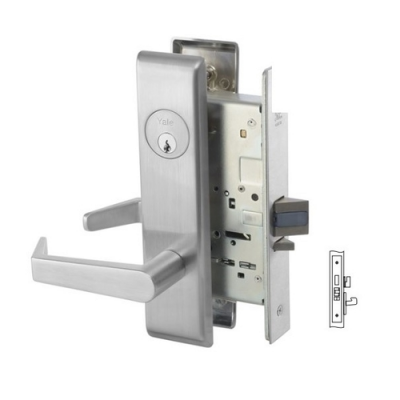 Yale 8835FL Exit Mortise Lever Lock